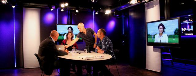 talkshow in studiocafé